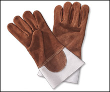 Leather Heat Resistant Gloves